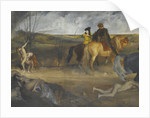 War Scene in the Middle Ages, ca 1865 by Anonymous