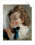 Portrait of Princess Marie Franziska von Liechtenstein at the age of two years, 1836 by Anonymous
