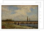 Vichy, Banks, Noon, 1870 by Anonymous