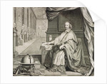 Portrait of Cardinal Mazarin by Anonymous