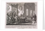 Conclusion of the Peace Treaty of Nystad on 20 August 1721 by Anonymous