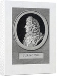 Portrait of the poet Jean Racine by Anonymous