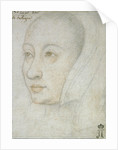 Portrait of Anne of Brittany by Anonymous