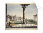 View of Ionic Gallery in Tsarskoye Selo by Anonymous