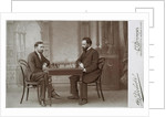 Mikhail Chigorin and Siegbert Tarrasch in Petersburg, 1893 by Anonymous