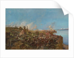 The Battle at Makhram on August 22, 1875 by Anonymous