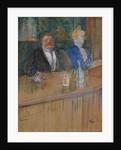At the Cafe. The Customer and the Anemic Cashier. (Au café: le patron et la caissière chlorotique) by Anonymous