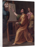 Saint Luke Painting the Virgin by Anonymous