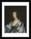 Portrait of Queen Henrietta Maria of France by Anonymous