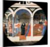 Birth Plate (Desco da Parto). Reverse: Puerperium of a noble Florentine woman by Anonymous