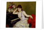 Portrait of pianist and composer Sophie Menter by Anonymous