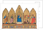 Polyptych: Madonna Enthroned with Child and Saints by Anonymous