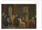 Antonello da Messina in the studio of Jan van Eyck by Anonymous