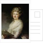 Portrait of Urszula Dembinska, née Morsztyn with music scores by Anonymous