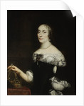 Portrait of Marie Louise Gonzaga, Queen of Poland by Anonymous