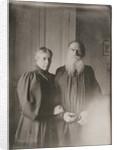 Leo Tolstoy and Sophia Andreevna by Anonymous