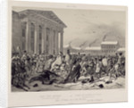 Flight of the French army through Vilnius by Anonymous