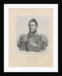 Portrait of General Alexandre Andrault de Langeron by Anonymous