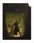 The Tempest. Prospero and Ariel by Anonymous