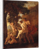 Venus, Faun and Putti by Anonymous