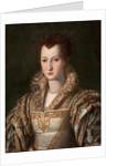 Portrait of Eleanor of Toledo, wife of Grand Duke Cosimo I de Medici by Anonymous