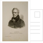 Portrait of Bernard Sarrette by Anonymous