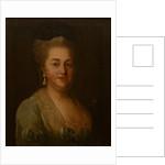 Portrait of Anastasia Mikhailovna Zagryazhskaya by Anonymous