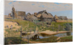 Russian Country Village by Anonymous