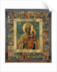 The Ilyin-Chernigov Icon of the Mother of God by Anonymous