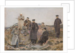 Group portrait of Savva Mamontov, Sergei Witte with the railway engineers by Anonymous