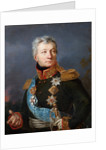 Portrait of General Count Alexander Petrovich Tormasov by Anonymous