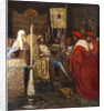 Alexander Nevsky Receiving Papal Legates by Anonymous