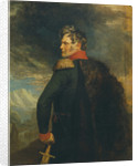 Portrait of the commander-in-chief of the Russian Army on the Caucasus Aleksey Yermolov by Anonymous