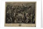 Allegory on the accession to the throne of Emperor Alexander I by Anonymous
