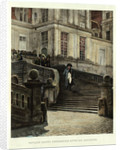 Napoleon Leaving Fontainebleau by Anonymous