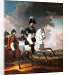 Equestrian Portrait of Emperor Alexander I by Anonymous