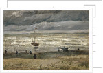 Sea at Scheveningen by Anonymous