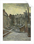 Houses Seen from the Back, Antwerp by Anonymous