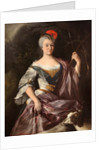 Portrait of a Lady as Diana by Anonymous