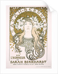 Sarah Bernhardt as La Princesse Lointaine by Anonymous