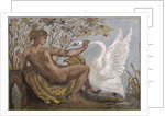 Leda and the Swan by Anonymous