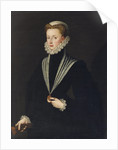 Portrait of Joanna of Austria by Anonymous