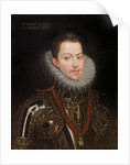 Portrait of Philip III of Spain, King of Spain and Portugal by Anonymous