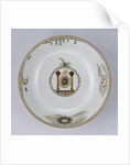 Punch Bowl with Masonic Symbols by Anonymous