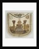 Masonic Master Apron, Russia by Anonymous