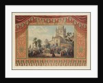 Curtain design for the Bolshoi Theatre by Anonymous