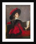 Portrait of the Baroness Crussol, wife of Henri-Charles-Emmanuel de Crussol-Florensac, née Anne Mari by Anonymous