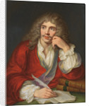 Portrait of the author Moliére by Anonymous