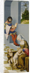 Altarpiece of the Holy Kinship.Right panel by Anonymous