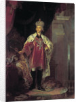 Emperor Paul I dressed as Grand Master of Maltese by Anonymous